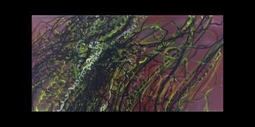 Gekröse l 60 x 30 cm l Acryl auf Leinwand I 2011