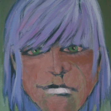 Gisela I l 100 x 140 cm l Acryl auf Leinwand I 2007