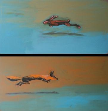 o.T. l je 200 x 100 cm l Acryl auf Leinwand I 2008