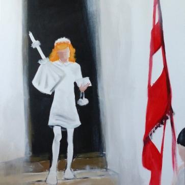 Erstkommunion l 80 x 100 cm l Acryl auf Leinwand I 2015