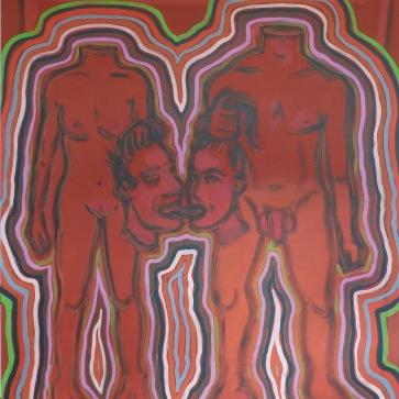 o.T. l 150 x 180 cm l Acryl auf Leinwand I 2014