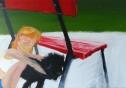 Nicki l 80 x 100 cm l Acryl auf Leinwand I 2015