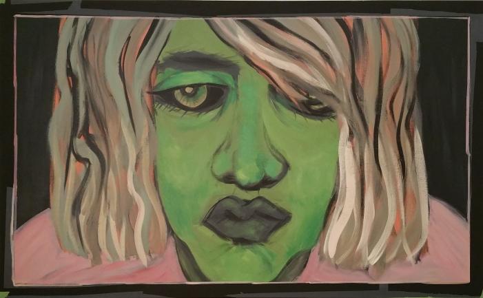 o.T. l 150 x 100 cm l Acryl auf Leinwand I 2018