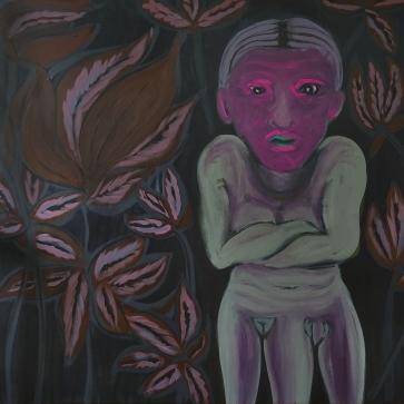 Gender Ghost l 150 x 150 cm l Acryl auf Leinwand I 2019