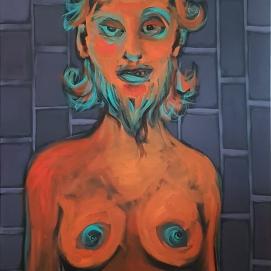 o.T. I 100 x 150 cm I Acryl auf Leinwand I 2020