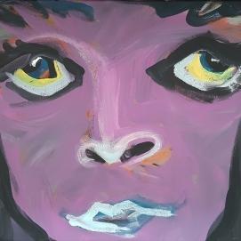 Violet I 70 x 50 cm I Acryl auf Leinwand I 2021